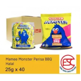 image of [FSC] Mamee Monsters BBQ Flavours 40piece x 25gm