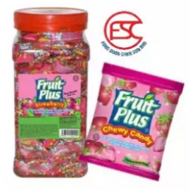 image of [FSC] Fruit Plus Strawberry Flavour Chewy Candy 350pieces