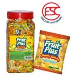 image of [FSC] Fruit Plus Mango Flavour Chewy Candy 350pieces