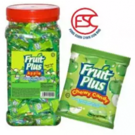 image of [FSC] Fruit Plus Apple Flavour Chewy Candy 350pieces