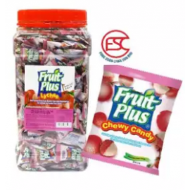 image of [FSC] Fruit Plus Lychee Flavour Chewy Candy 350pieces