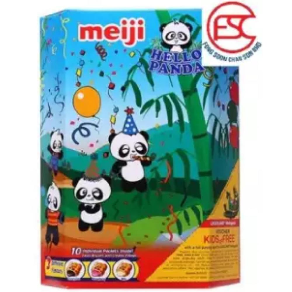 [FSC] Meiji Hello Panda Assorted For 3 Flavours 260gm (Choco/Strawberry/Milk)