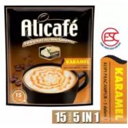 image of [FSC] Alicafe Instant 5 in 1 Tongkat Ali and Ginseng (Karamel ) Coffee 15sachet x 40gm