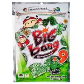 image of [FSC] Tao Kae Noi Big Bang Classic Seaweed 60gm x 2pkt