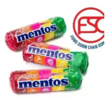 [FSC] Mentos Chewy Candy Mini Stick Rainbow Fruit Flavours 100stick x 10gm