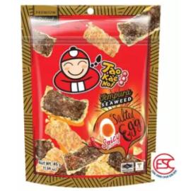 image of [FSC] Tao Kae Noi Salted Egg Tempura Seaweed (Hot&spicy Flavour) 45gm x 3pkt