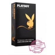 image of [FSC] Playboy Premium Latex Condom 12s Lubricated Ultra Thin