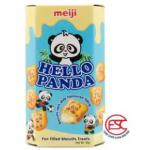 Meiji Hello Panda biscuits 43gm x 10boxes Milk Flavours