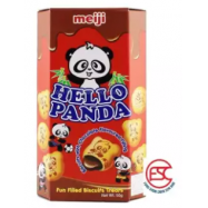 image of Meiji Hello Panda biscuits 45gm x 10box Chocolate Flavours