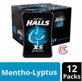 image of [FSC] Halls XS Menthol Mini Candy 12pieces x 25gm