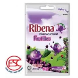 image of [FSC] Ribena(Ziplock) Blackcurrant Pastille 12pkt x 40gm