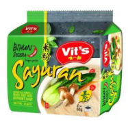 image of [FSC] Vit's Rice Vermicelli Vegetarian Clear Soup 55gm x 5pkts x 6bag (carton)