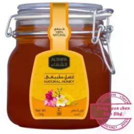 image of [FSC] Alshifa NATURAL Honey 1KG (Jar)