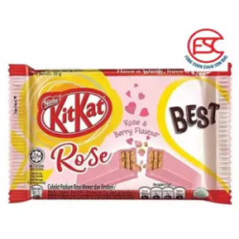 image of [FSC] Kit Kat Rose & Berry Flavour (4F) 35gm x 24pieces {LIMITED EDITION}