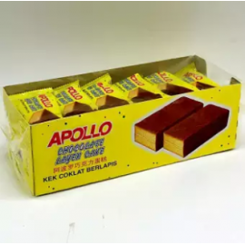 image of [FSC] Apollo Chocolate Coated Layer Cake 24pieces x 18gm