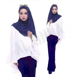 image of HANA BELLA PALAZZO BASIC PLAIN AL AINNA // HOT SELLER READY STOCK WOMEN PANTS