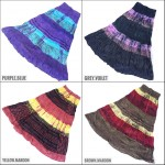 COTTON GYPSY SKIRT AAC05 AL AINNA STOCK CLEARNACE SALE READY STOCK RAYA