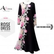 image of ROSE DRESS AL AINNA AAC82 // READY STOCK BAJU RAYA