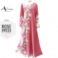 image of ROSE DRESS V2 AL AINNA AAC83 // READY STOCK BAJU RAYA