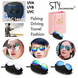 image of Gwen Eyewear Sunglasses UV400 Polarised Unisex Cermin mata hitam Birthday Gift
