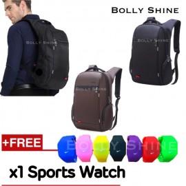 image of Bkinson Laptop Backpack Unisex Women Men Backpacks Beg Bags Anti Theif Bag