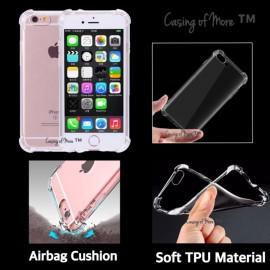 image of 1.0mm 1.5mm TPU Airbag Iphone 6 6s 6plus 7 7plus 8 8plus X Case Transparent