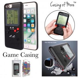 image of Creative Retro Games Mobile Shell Tetris Tank Battle Game Phone Case for Iphone