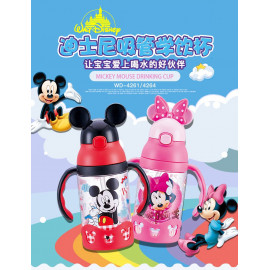 image of 米奇米妮带吸管水杯 / Mickey Minnie with a straw cup