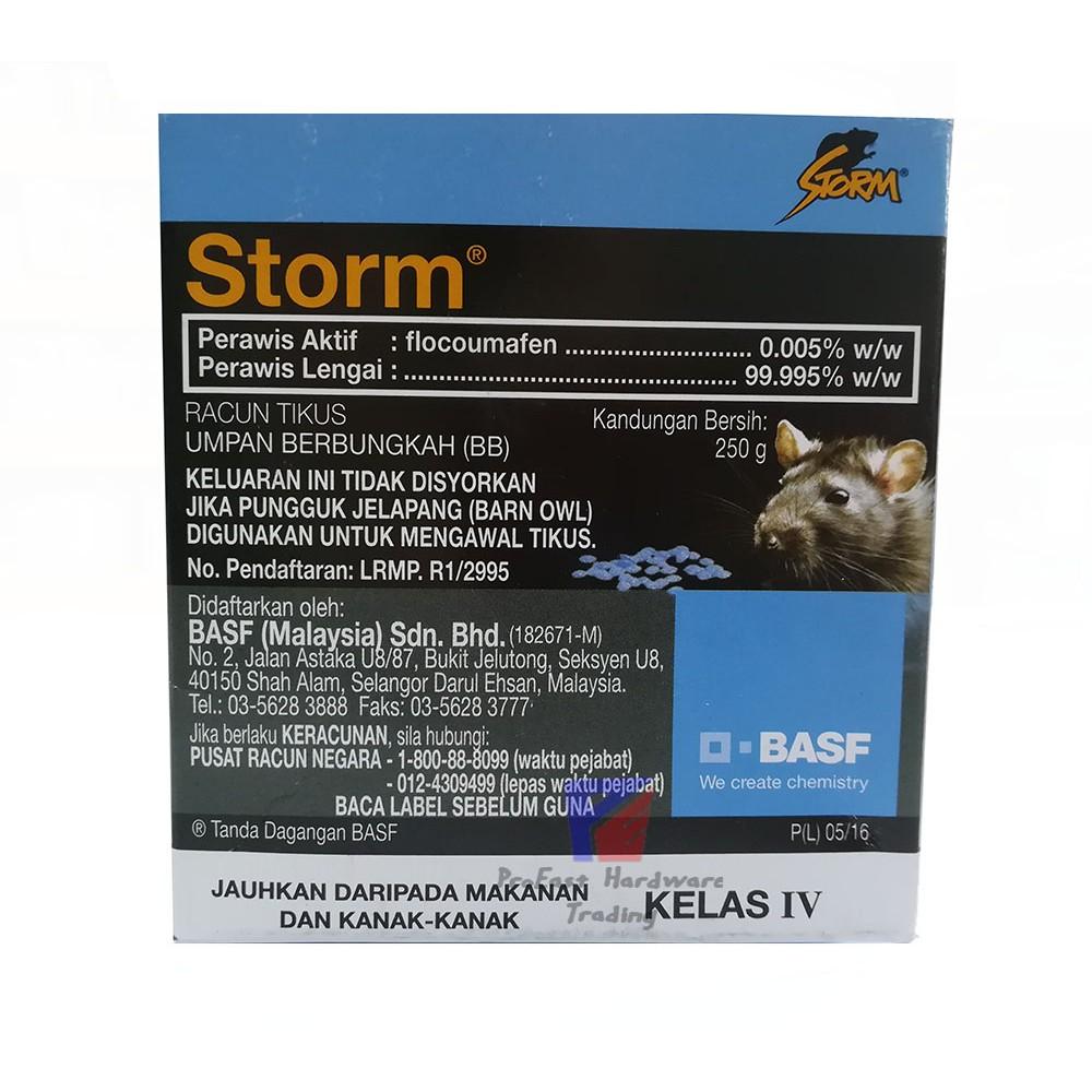 Storm-Rat killer/Racun tikus/老鼠药-250G