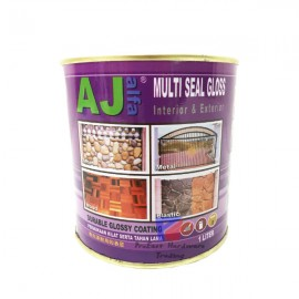 image of AJ-Interior & Exterior Multi Seal Gloss Paint (Clear)-1Liter