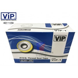 image of VIP- Thread Seal Tape/Plumbing Tape/White Tape(1Box=100pc)