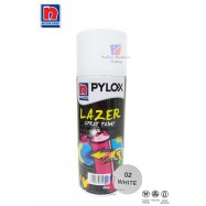 image of NIPPON PYLOX LAZER SPRAY PAINT (02-WHITE) - 400cc