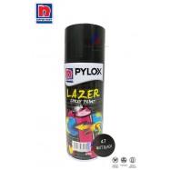 image of NIPPON PYLOX LAZER SPRAY PAINT (47-MATT BLACK) - 400cc
