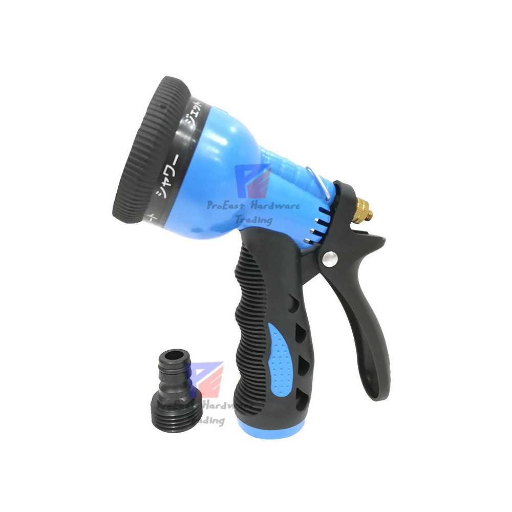 MII 6-FUNCTION GARDEN SPRAY NOZZLE