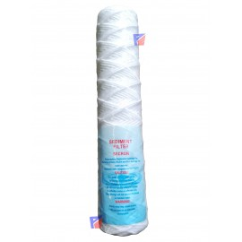 """image of 10"""" String Wound Filter Cartridge micron PP Cotton Filter Sediment Filter"""