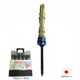 image of 1pc x 65mm Super Magnetic Screwdriver Bit for Any Power Drill
