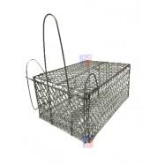 image of 28cmx18cmx14cm(8) Metal Mouse/Rat Trap Cage