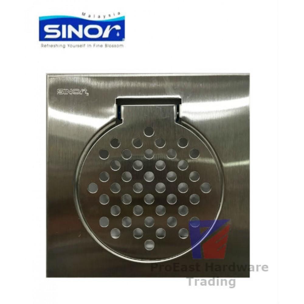 "Sinor-6""x6"" Stainless Steel Floor Grating Trap(Standard)"
