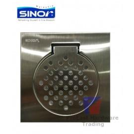 "image of Sinor-6""x6"" Stainless Steel Floor Grating Trap(Standard)"