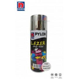 image of NIPPON PYLOX LAZER SPRAY PAINT (700-BRIGHT CHROME) - 400cc