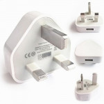 UK Plug 5V/1A USB Charger Adapter
