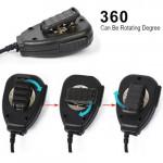2 Pin Walkie Talkie Handheld PTT Loudspeaker + Microphone - K Port