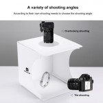 PULUZ Portable Folding LED Photo Studio Light Box - 23*24cm