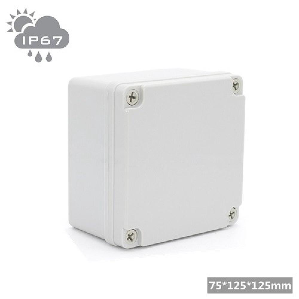 IP67 Waterproof Outdoor Junction Box - 75*125*125mm