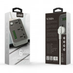 LDNIO 5V/3.4A 3 AC SOCKETS + 6 USB PORTS Power Charger Dock