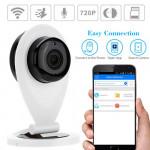 SRICAM SP09 720p Night Vision WiFi P2P IP CCTV Camera