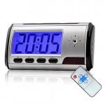 Digital Alarm Clock Spy Hidden Pinhole Camera - Motion Detect