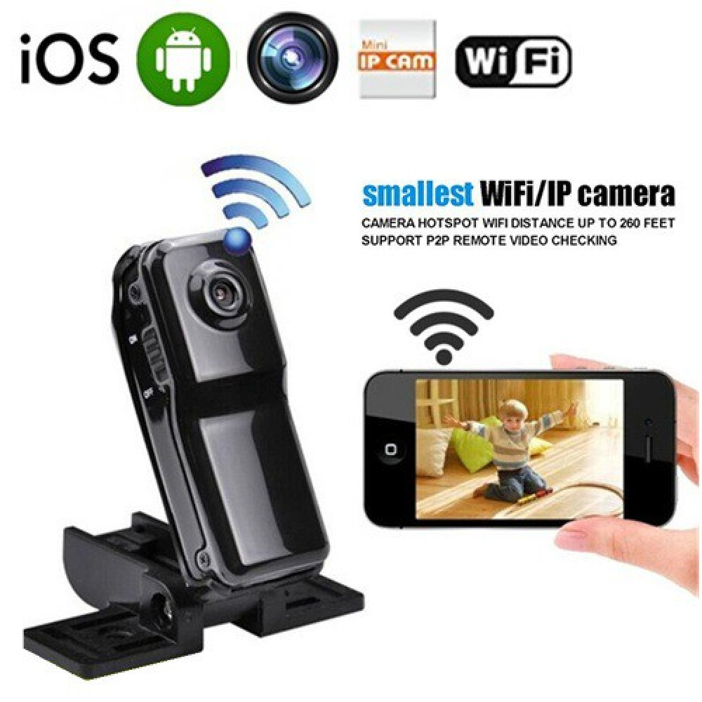 MD81S WiFi P2P Hidden Pinhole Spy Camera