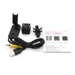 SQ11 Night Vision Full HD Mini Cube Dv Camera /Black