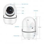 Y4A 1080p Day & Night Wireless Auto Tracking Ptz Cctv Camera